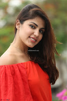 Rhea Chakraborty in Red Crop Top and Denim Shorts Spicy Pics ~  Exclusive 150.JPG