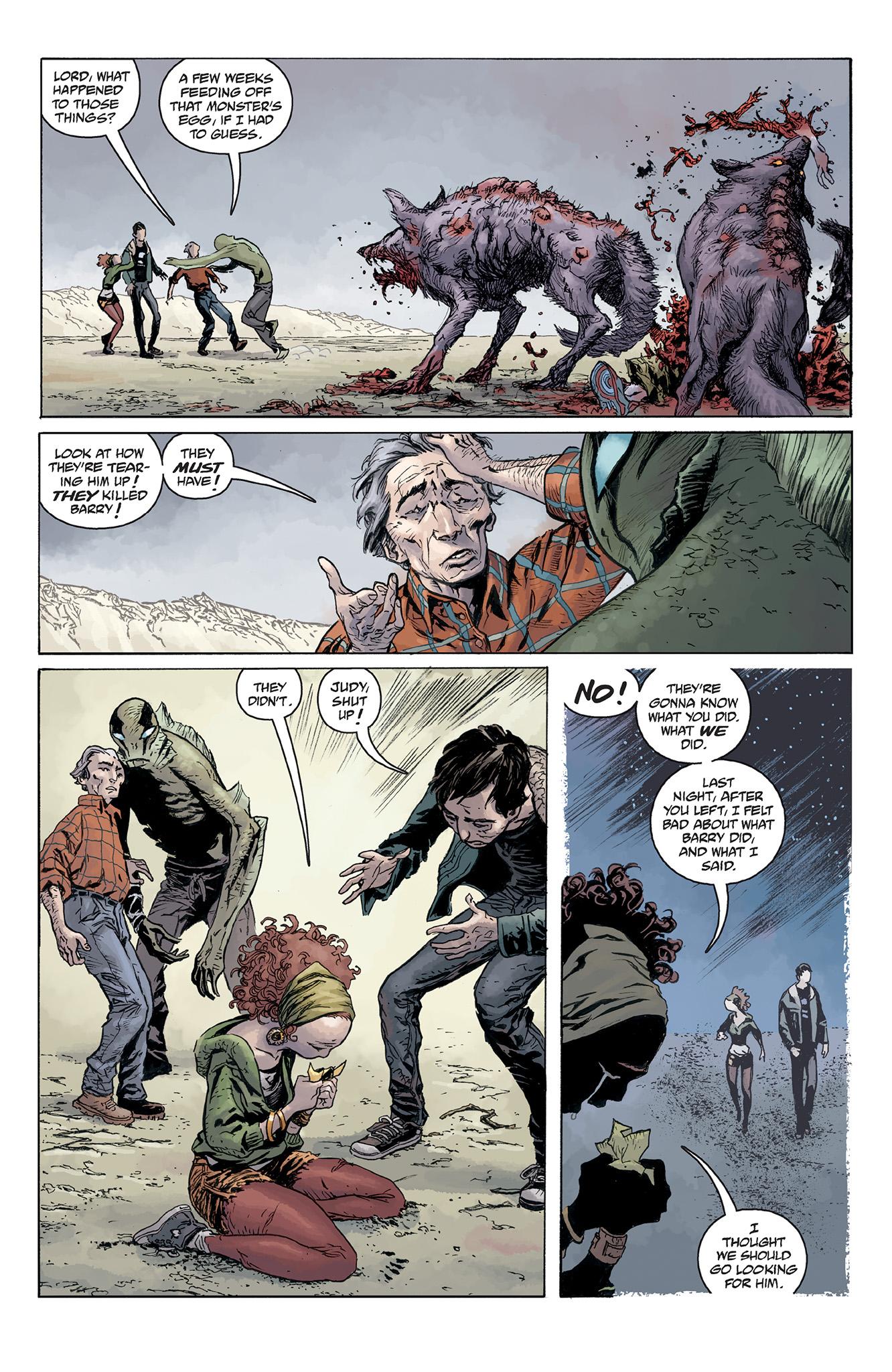 Read online Abe Sapien comic -  Issue #5 - 19