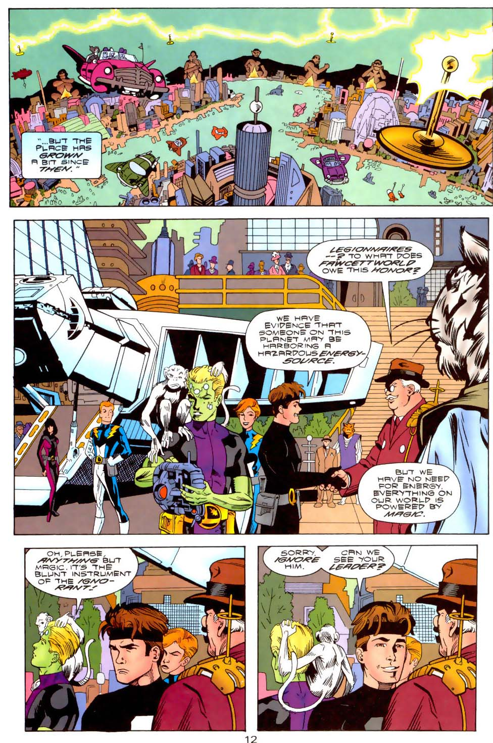 Legion of Super-Heroes (1989) 110 Page 12