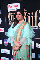 Samantha Ruth Prabhu Smiling Beauty in strange Designer Saree at IIFA Utsavam Awards 2017  Day 2  Exclusive 46.JPG