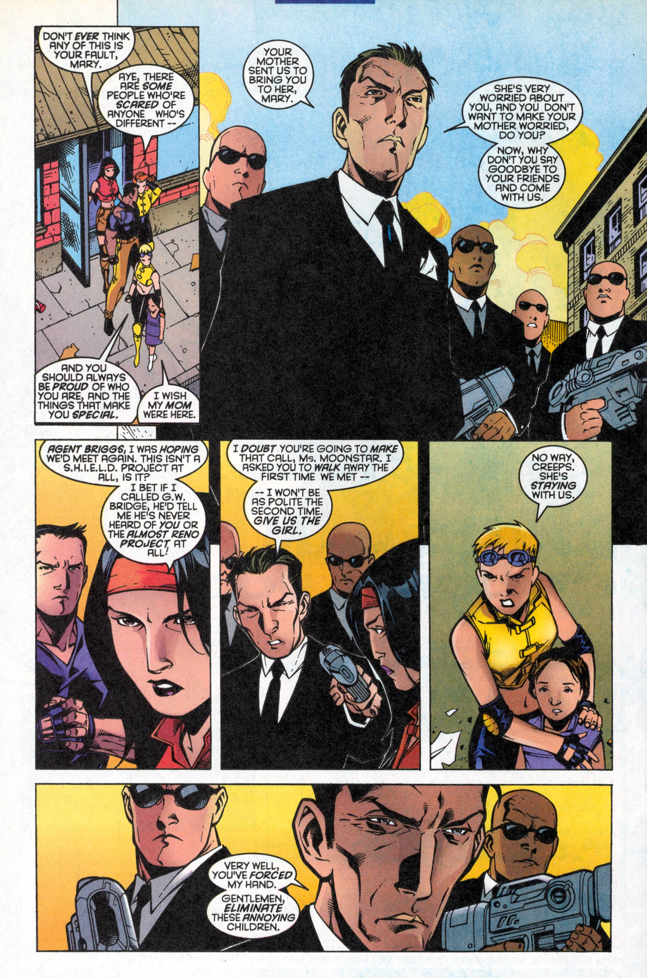 Read online X-Force (1991) comic -  Issue #86 - 24