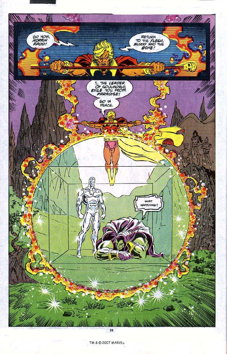 Read online Silver Surfer (1987) comic -  Issue #47 - 26