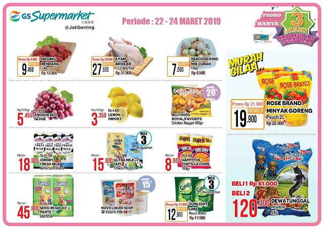 #GSSupermarket - #Promo #Katalog JSM Periode 22 - 24 Maret 2019