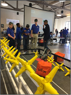 Robot Competition Hosted at Montgomery Catholic 1