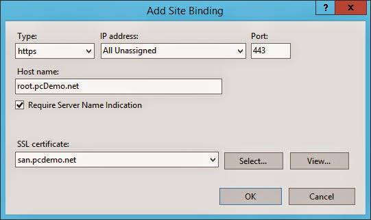 SharePoint The PC Way: Binding SSL Certificates to SNI Enabled Host