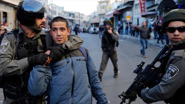 Fuerzas israelíes irrumpen en casas y detienen a 5 palestinos