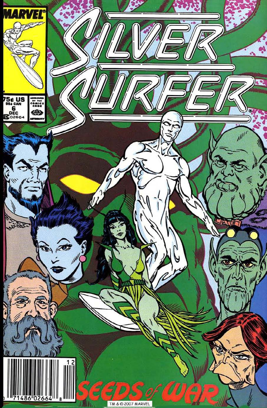 Silver Surfer (1987) issue 6 - Page 1