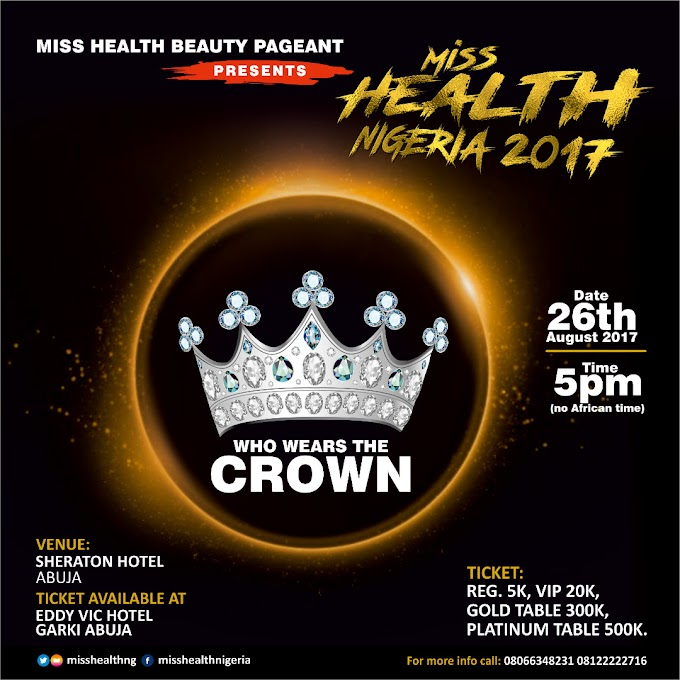 COUNTDOWN! World Humanitarian Awards & Health Contest Set To Take Centre Stage 26th.