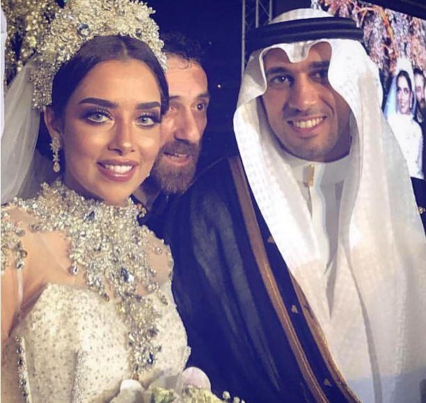 حفل زفاف بلقيس , زفاف بلقيس على رجل اعمال سعودى