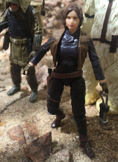 Jyn Erso, Black Series, Moroff, Pao, Rogue One