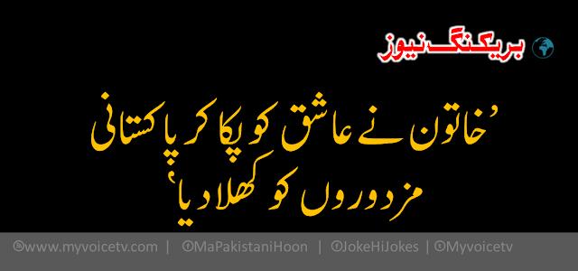 'خاتون نے عاشق کو پکا کر پاکستانی مزدوروں کو کھلا دیا'