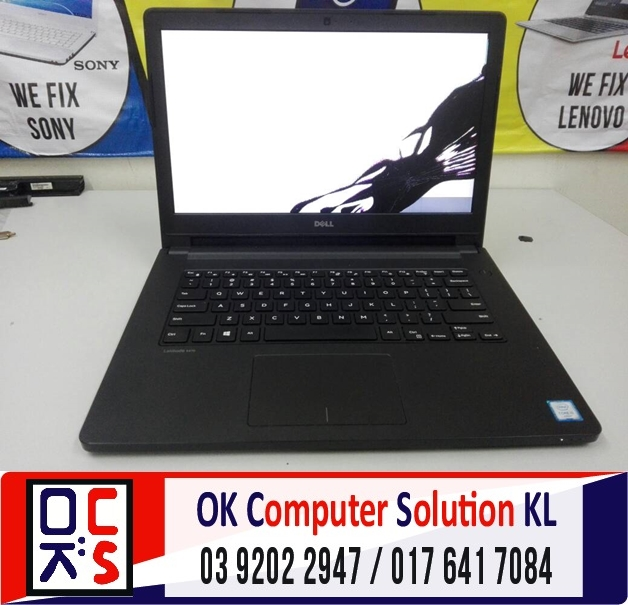 [SOLVED] SKRIN LAPTOP DELL 3470 | REPAIR LAPTOP DESA PANDAN 1