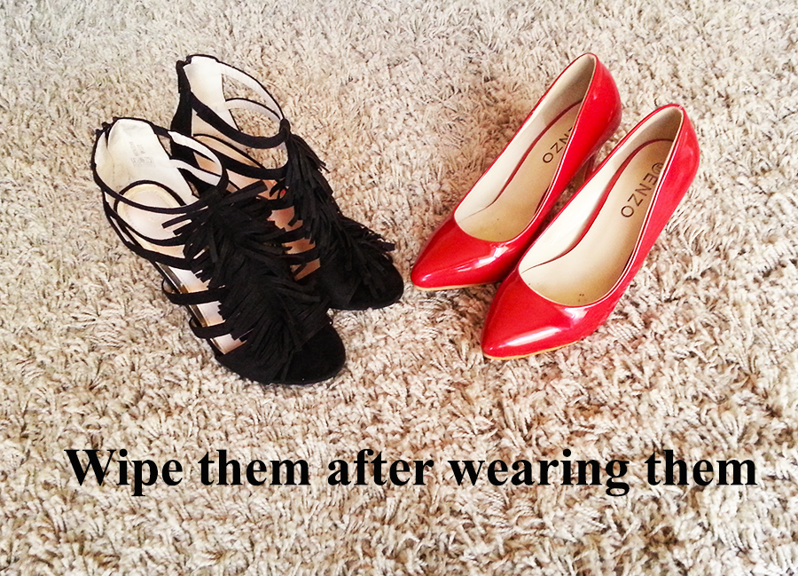 Don't be afraid to wear your shoes often as you can save them with these tricks