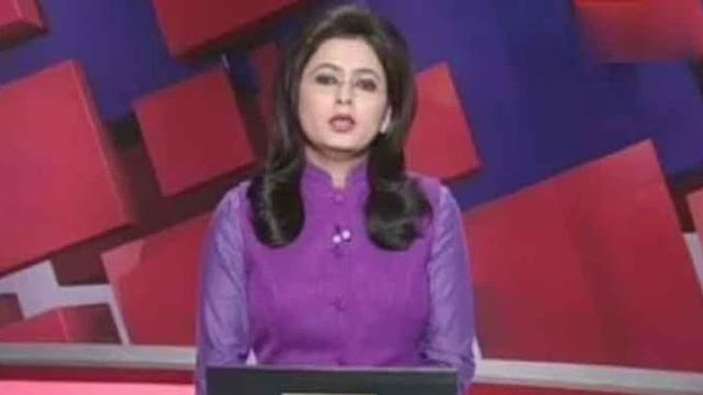 Bacakan Kabar Kematian Suaminya Sendiri dengan Tenang, Presenter TV di India Menuai Pujian