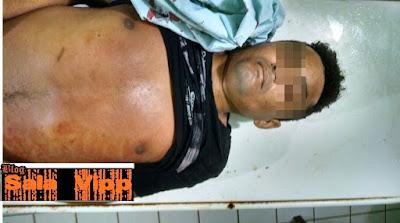 Homem tenta assaltar Posto de combustivel, acidentalmente atira na própria perna e vem a óbito em Urbano Santos