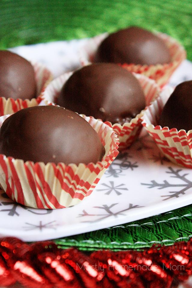 Chocolate Peanut Butter Bon Bons recipe