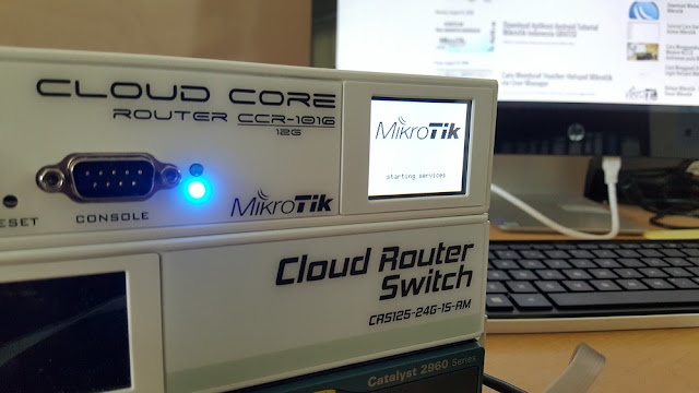 Mikrotik CCR Starting Service Freeze after restore configuration