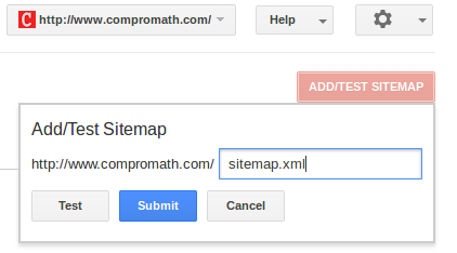 Submit to Google Webmaster Tool