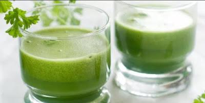 cara membuat jus daun seledri, cara mengolah jus daun seledri, manfaat jus daun seledri.