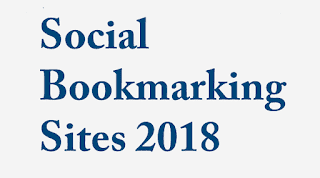 Latest Social Bookmarking Sites List 2018