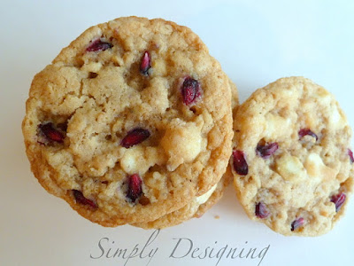 cookies+03 Pomegranate White Chocolate Chip Cookies 11