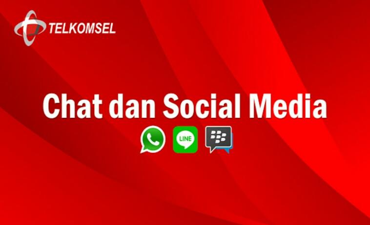 Cara Mengubah Kuota Chat dan Social Media Telkomsel Terbaru 2019