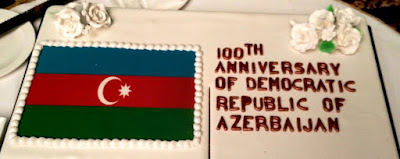 Cake on Azerbaijan 100th Anniversary