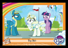 My Little Pony Top Bolt Series 5 Trading Card