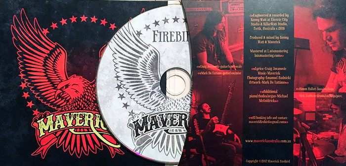 MAVERICK (AUS) - Firebird (2017) disc