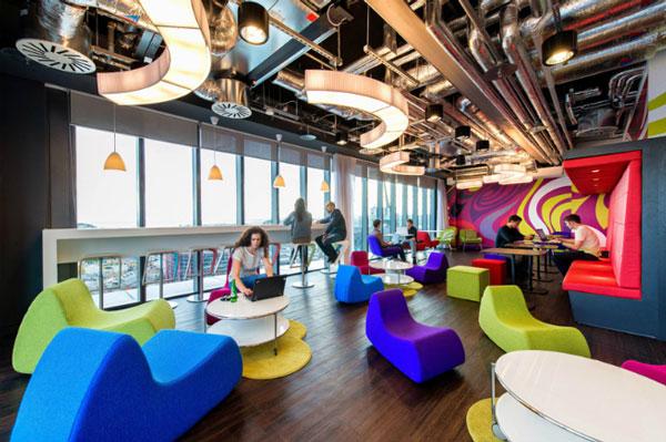 Những xu hướng thiết kế nội thất văn phòng hiện đại