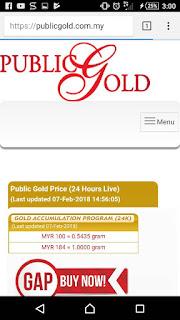 public gold agen kemaman terengganu