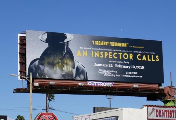 An Inspector Calls Wallis billboard