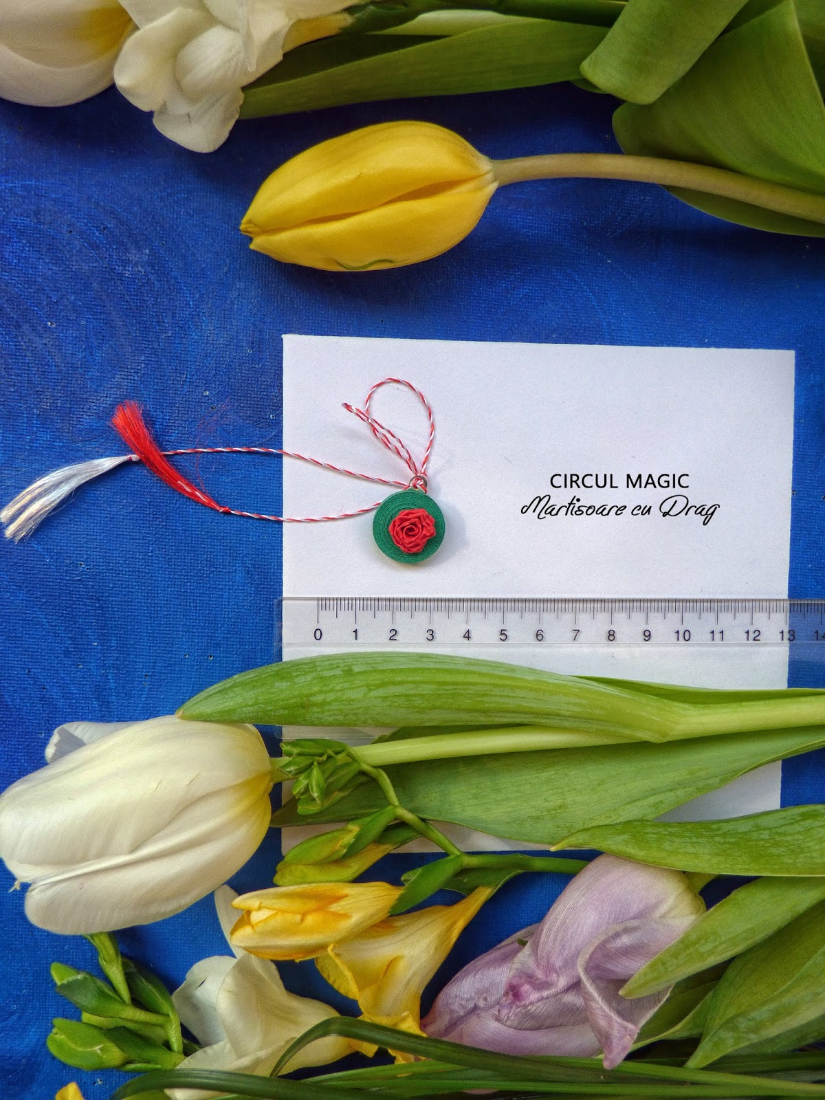 Martisoare Flori Quilling 2017 Trandafiri Circul Magic