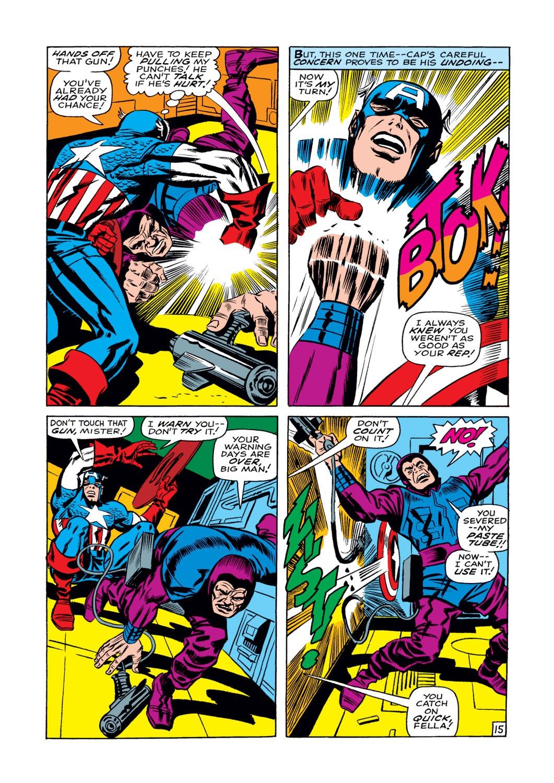 Read online Captain America (1968) comic -  Issue #108 - 16