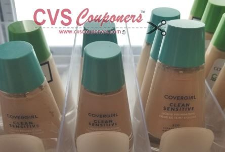 CoverGirl Liquid Foundation cvs freebie