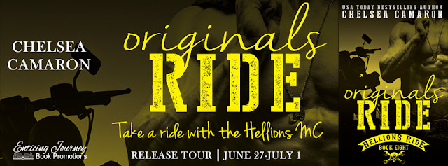 "GET READY for ""Originals RIDE"" #HellionsMC by @chelseacamaron #MCRomance"