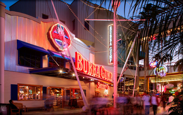 Restaurante Bubba Gump Shrimp Co. no CityWalk em Orlando