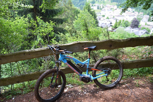 percorsi itinerario mountain bike lavarone
