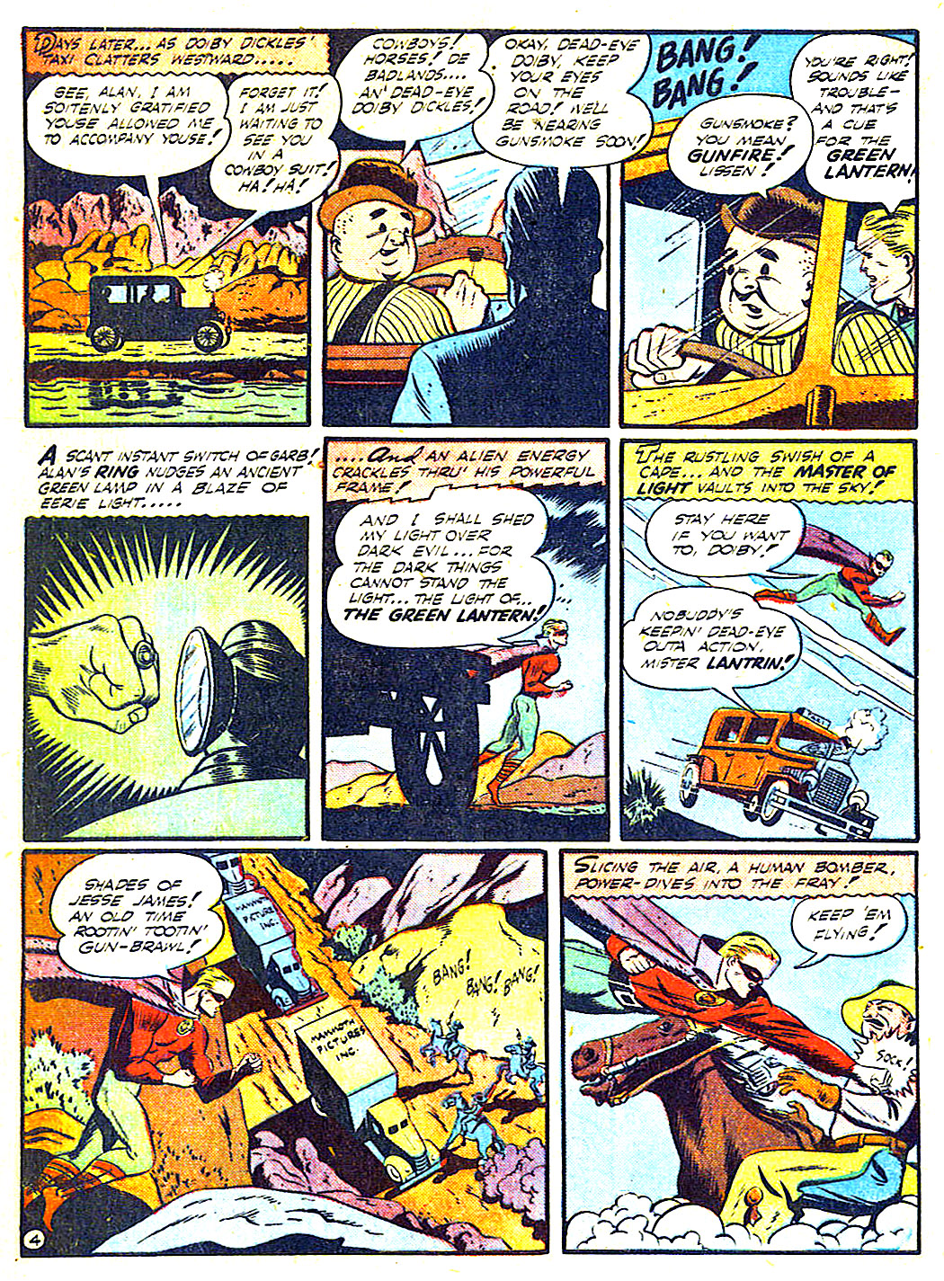 Read online All-American Comics (1939) comic -  Issue #50 - 6