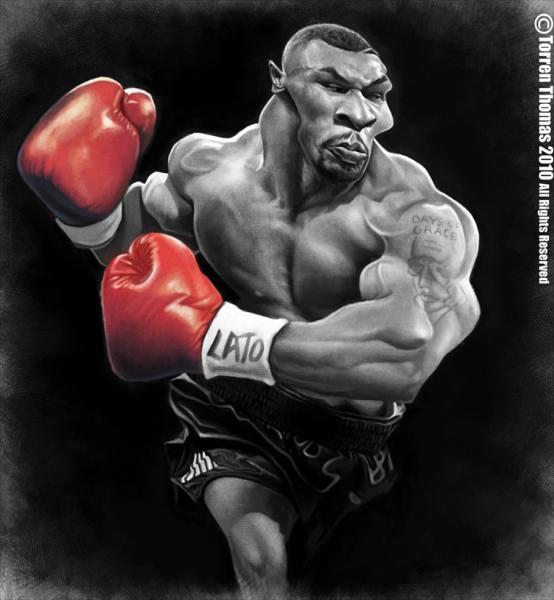 Mike Tyson por Torren Thomas