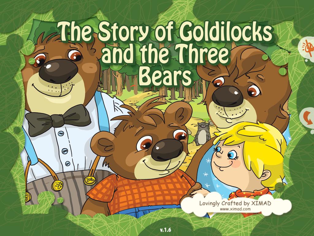Carrie S Speech Corner Book S Of The Week Goldilocks