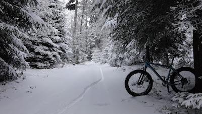 Schneelandschaft bei der Otterbachegg