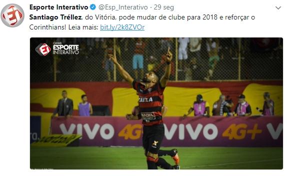 Corinthians mira atacante colombiano do Vitória e estuda envolver Marlone na negociação, afirma jornalista 2