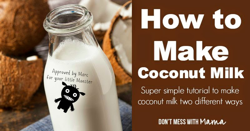 http://dontmesswithmama.com/how-to-make-coconut-milk/