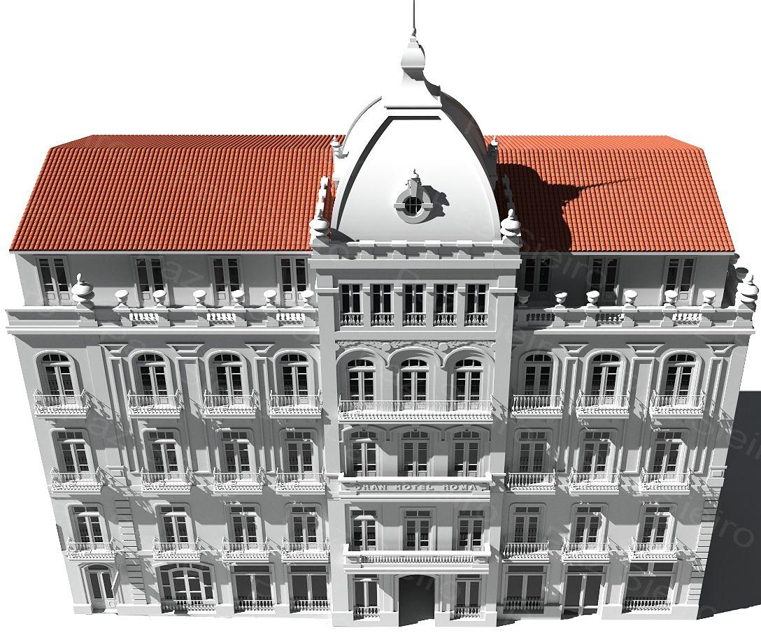 Works 3d gran hotel roma r a progreso ourense - Arquitectos ourense ...