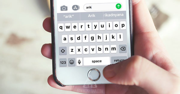 Cara Menghilangkan Prediksi Kata Pada Keyboard iPhone dan iPad