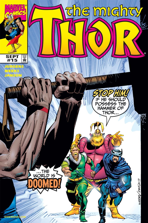 Thor (1998) Issue #15 #16 - English 1