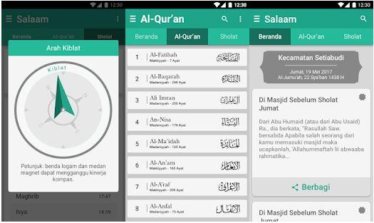 Aplikasi Pengingat Sholat Al Quran Indonesia