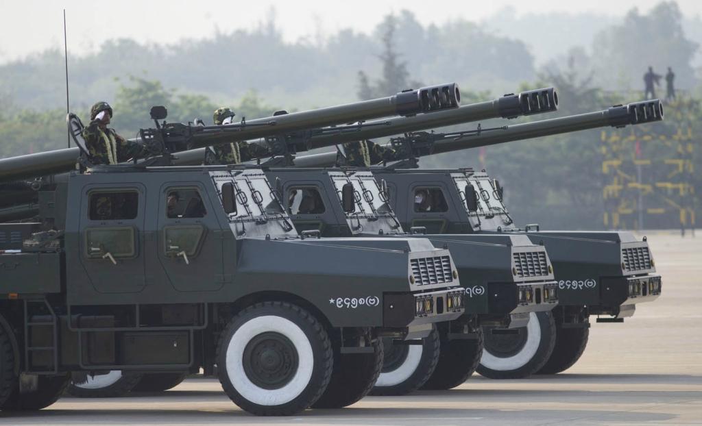 8055b0242e49 China Defense Blog  Norinco SH-1 Truck-mounted 155mm Gun-Howitzer of ...