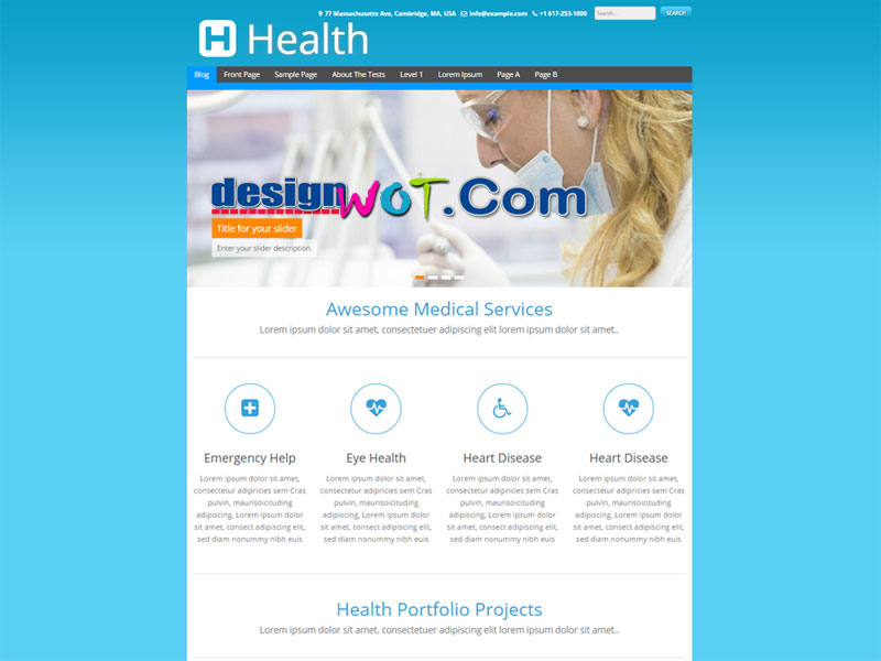 healtha wordpress theme